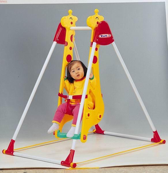 """Качели """"Жираф"""" для одного ребенка, HAENIM TOY"""