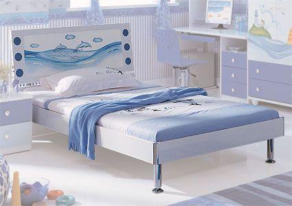 Кровать детская Дельфин, Milli Willi