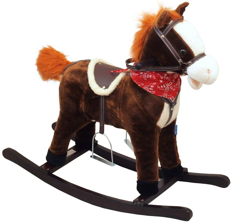 Качалка-Лошадка OSCAR , подставка для ног, стремена