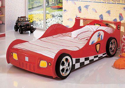 Кровать машина электрическая Racer 865R, Milli Willi