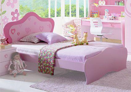 Кровать для девочки от 3 лет Milli Rose